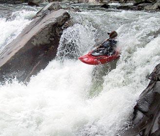 Kayacking