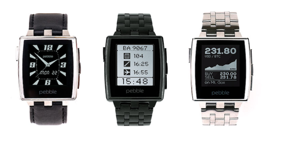 Pebble Steel Smartwatches